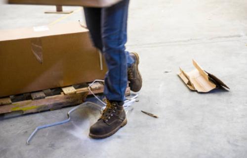 Examen de daños de accidente laboral